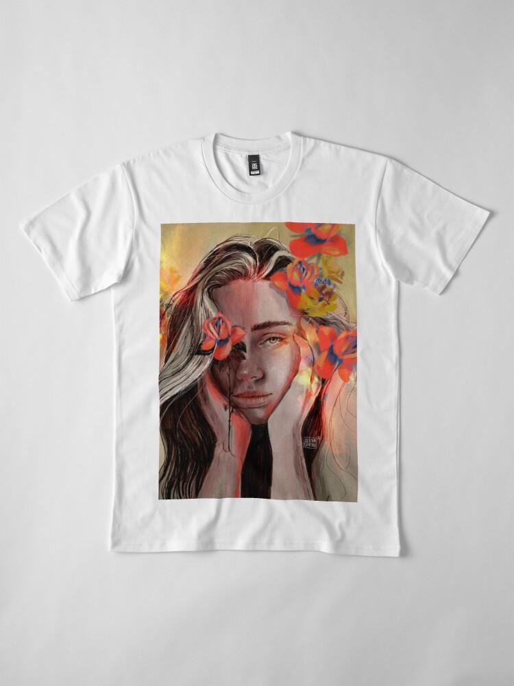 Vista alternativa de Camiseta premium ROSE