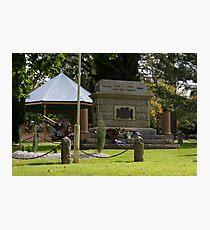Maldon  Cenotaph Photographic Print