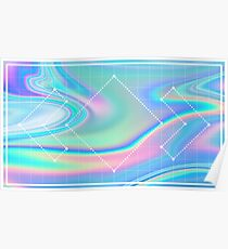 Madeon Holographic design Poster