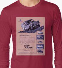 Classic Land Rover Advert! T-Shirt