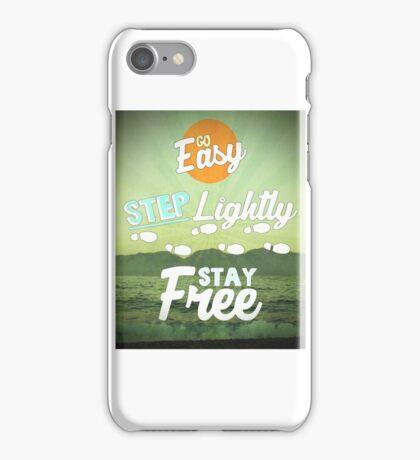 Go Easy... iPhone Case/Skin
