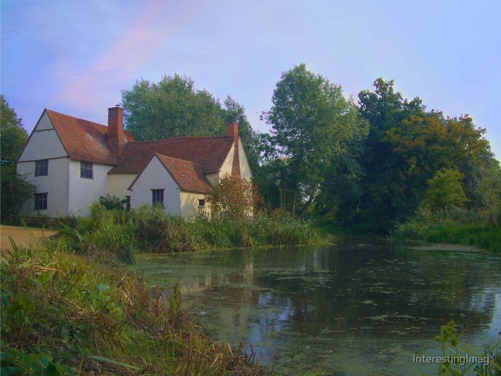 The haywain, colorful version, present day by InterestingImag