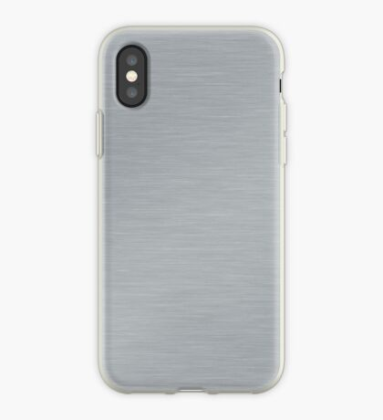Decorative products with polished metal. iPhone Case