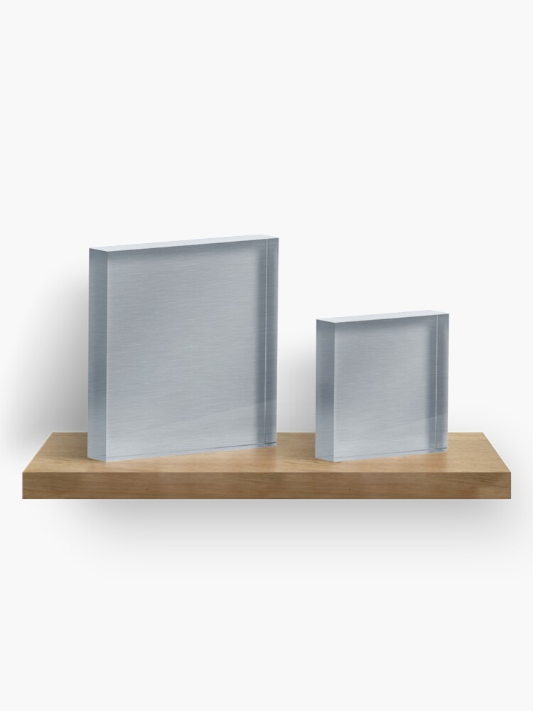 Alternate view of Decorative products with polished metal. Acrylic Block