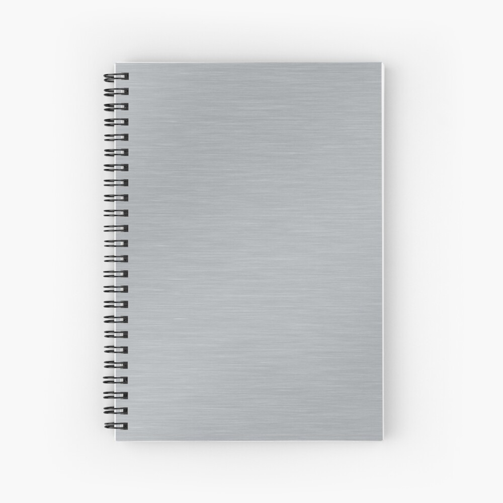 Decorative products with polished metal. Spiral Notebook