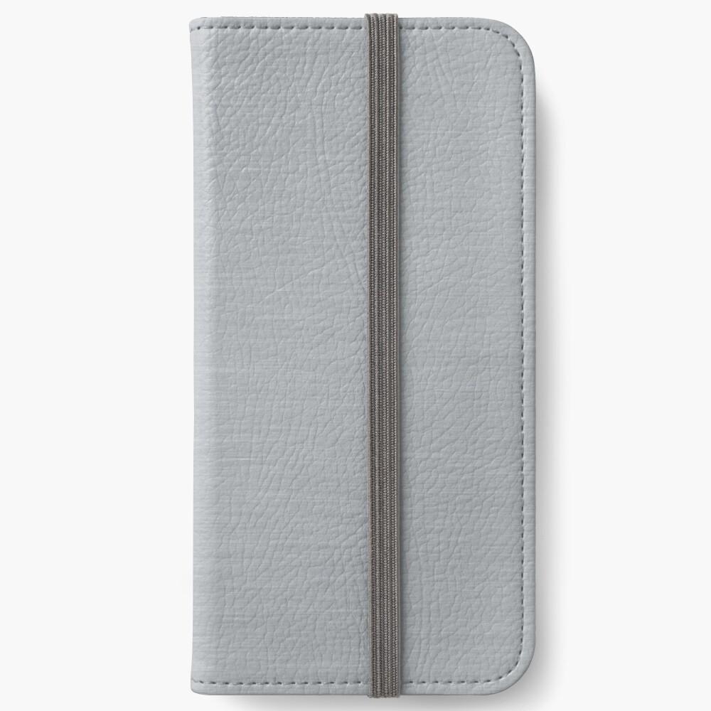 Decorative products with polished metal. iPhone Wallet