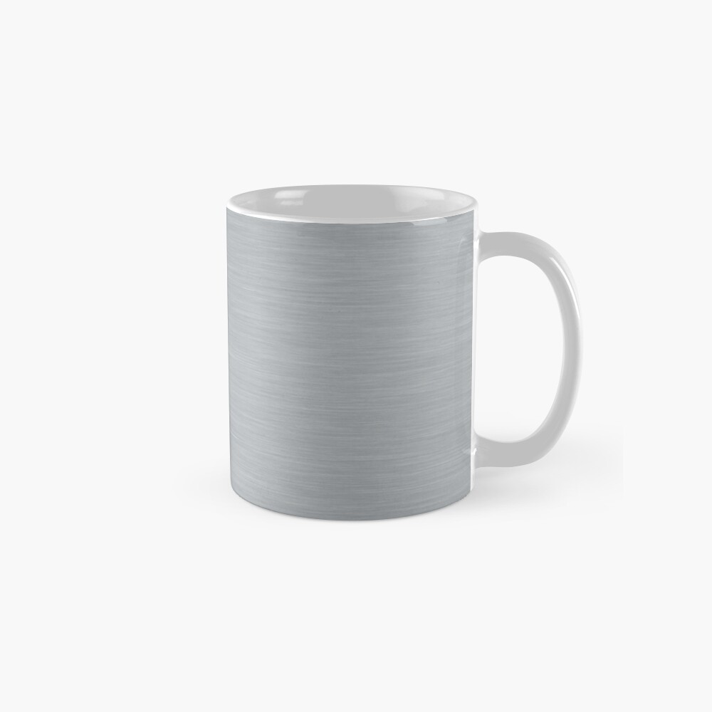 Decorative products with polished metal. Classic Mug