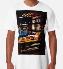 Drive Through Shopping Long T-Shirt