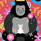 Koko the Gorilla  by CarlyWatts