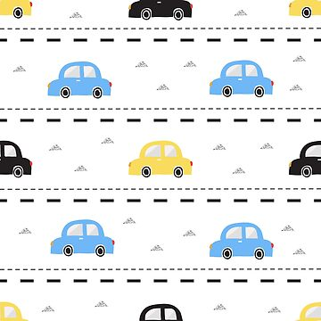 Kids Car Pattern by TeeVision