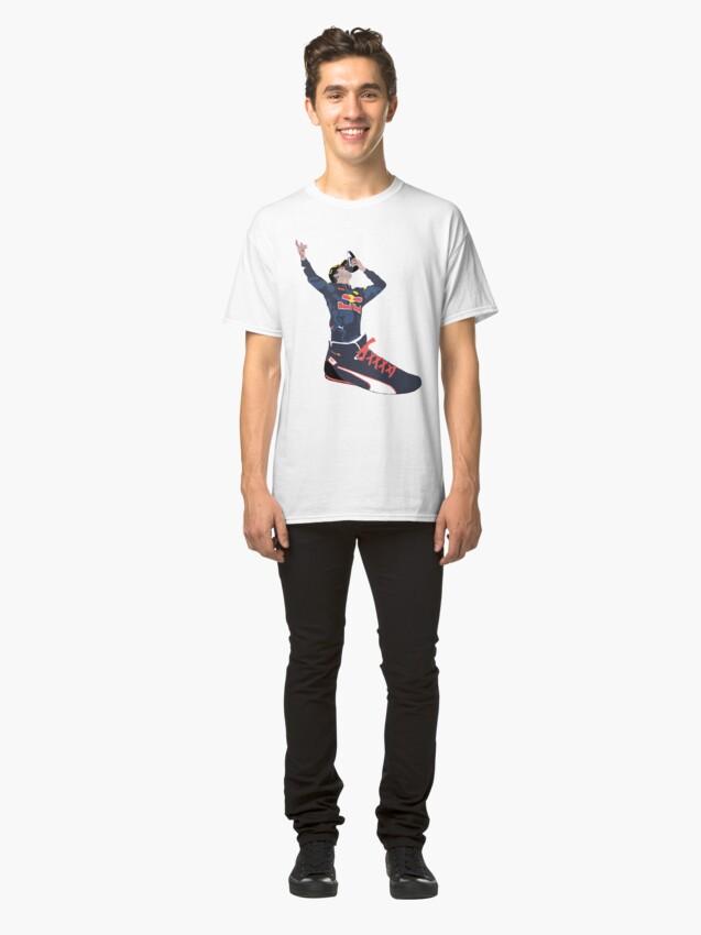 Alternate view of Daniel Ricciardo - Shoey In a Shoe Classic T-Shirt