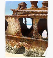 Port Holes Poster
