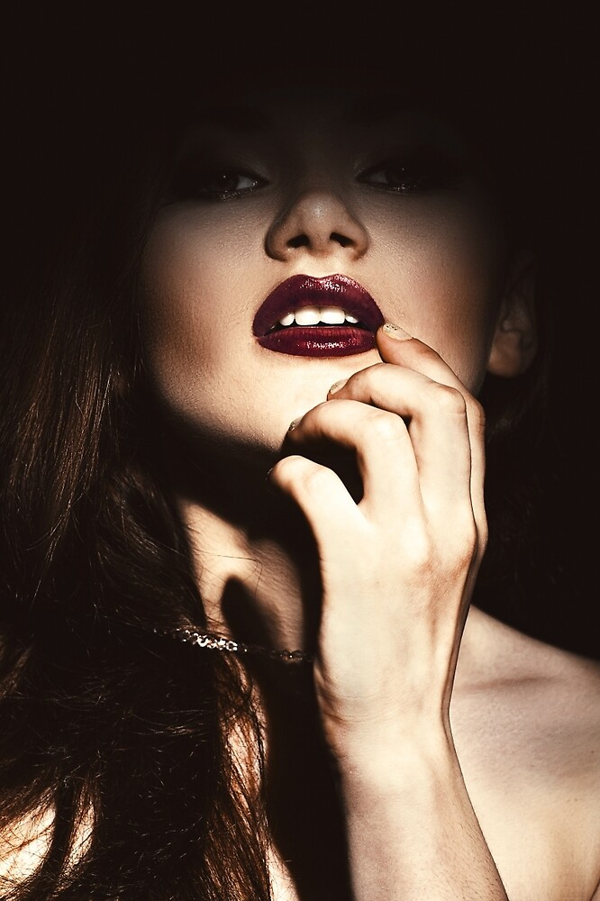 Lips by katerinaklio