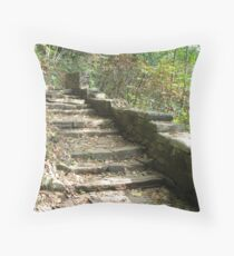 Stone Staircase Throw Pillow
