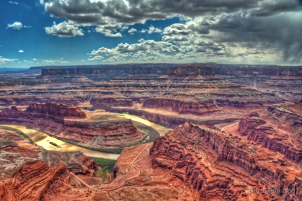 Dead Horse Point Overlook by Bryan Peterson