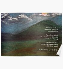 Valley of the Wind Poem Poster