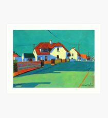 Kilmore Quay (Wexford, Ireland) Art Print