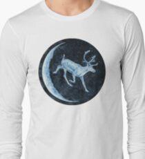 Magical, Glowing Reindeer Long Sleeve T-Shirt