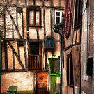 French quarter France by Natalie  Cartz