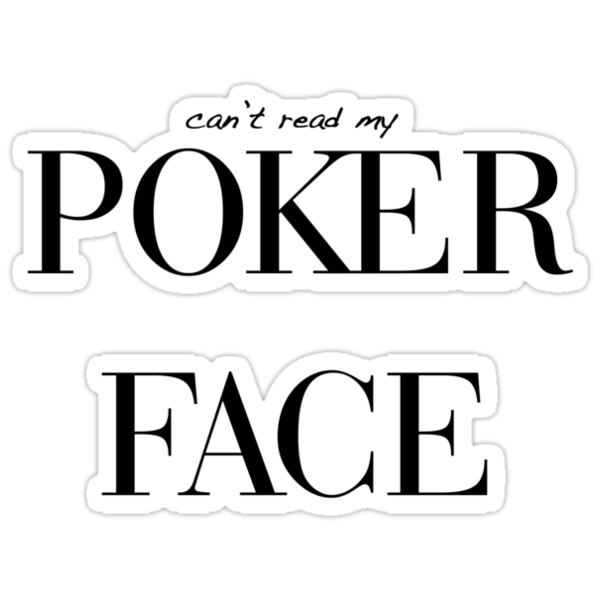 how to read poker faces