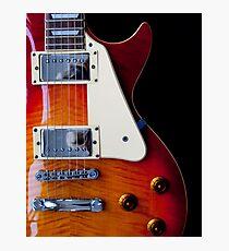 Guitar Curves Photographic Print