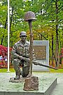World War II Veterans Memorial Park Monument by Paul Gitto