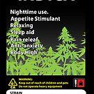 «Etiqueta Indica De Cannabis» de kushcoast