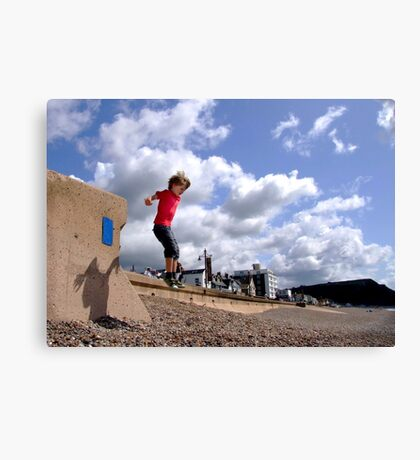 Jump Canvas Print
