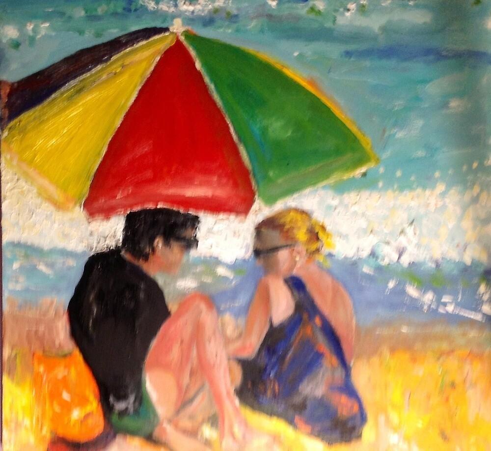 Beach Lovers by marlenekurland