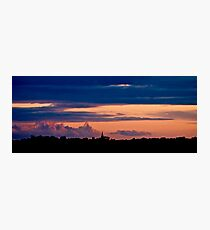 Night Fall Photographic Print