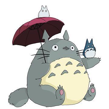 Totoro und Freunde von tonguetied