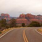 Upper Red Rock Loop Road, Sedona, AZ by Barb White