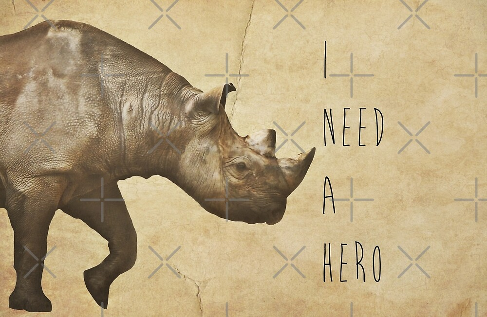 I Need A Hero by Denise Abé