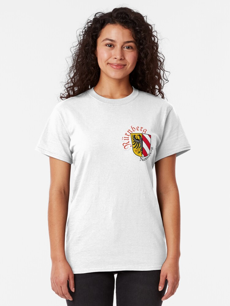 Alternate view of Nürnberg (Nuremberg) Coat of Arms Classic T-Shirt