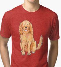 Winnie the cocker spaniel Tri-blend T-Shirt