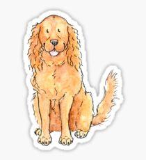Winnie the cocker spaniel Sticker