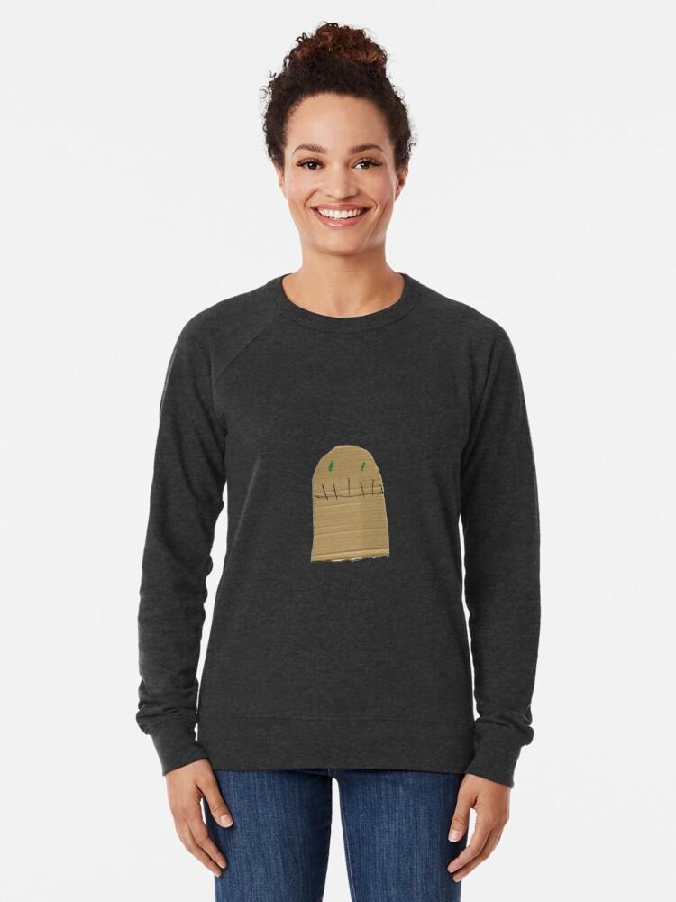 Alternate view of creepy Lightweight Sweatshirt