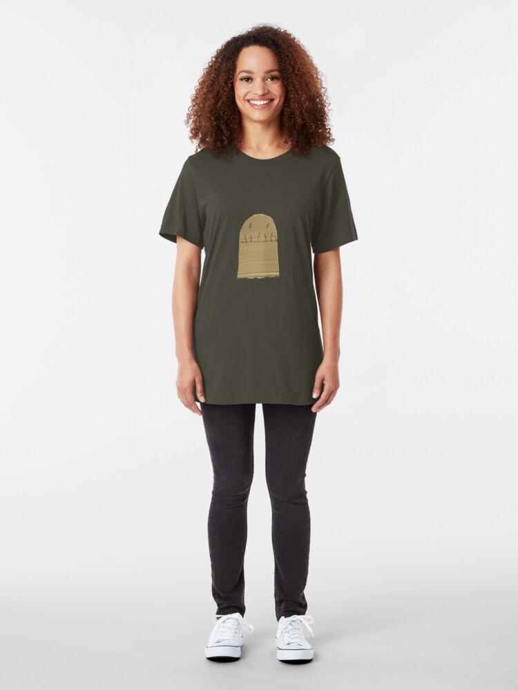 Alternate view of creepy Slim Fit T-Shirt