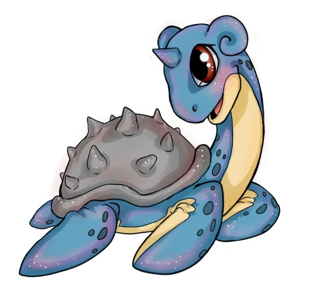 Pokemon - Lapras by SilverRacoon