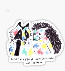 Skam france- sont heureux Sticker
