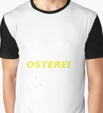Osterei-Schriftzug Grafik T-Shirt