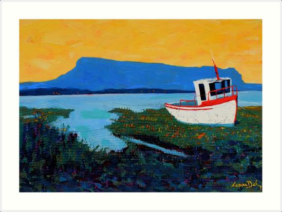 Boat, Benbulben (County Sligo, Ireland) by eolai