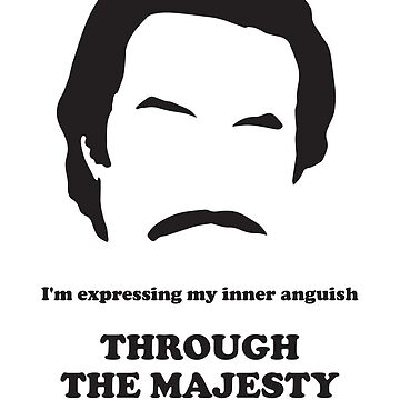 Ron Burgundy - Majesty of Song by gazbar