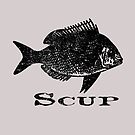 Scup Funny Fishermen Porgy Fish Fishing Vintage Distressed Look by funnytshirtemp