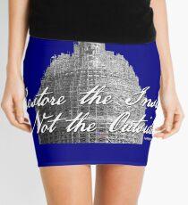U.S. Capitol: Restore the Inside, Not the Outside Mini Skirt