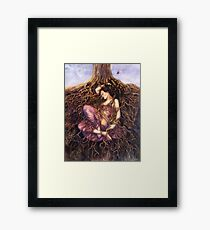 Tangled / Dreaming Dryad Framed Print