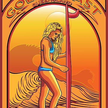 GOLD COAST QUEENSLAND AUSTRALIA SURFING by theoatman