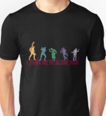 Schirmakademie - Ich denke, wir sind jetzt alleine Slim Fit T-Shirt