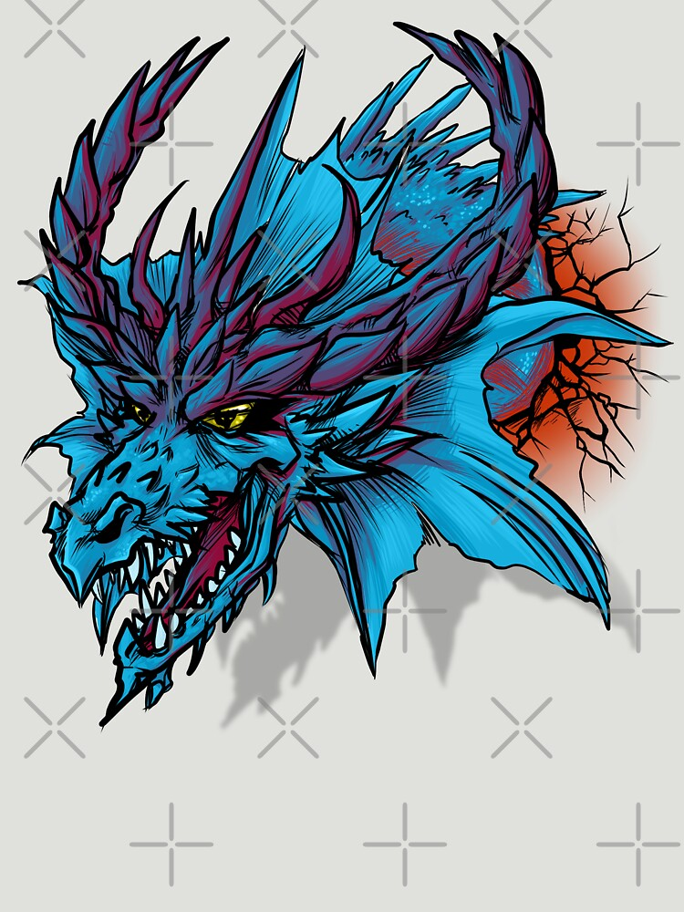 Blue Dragon by August