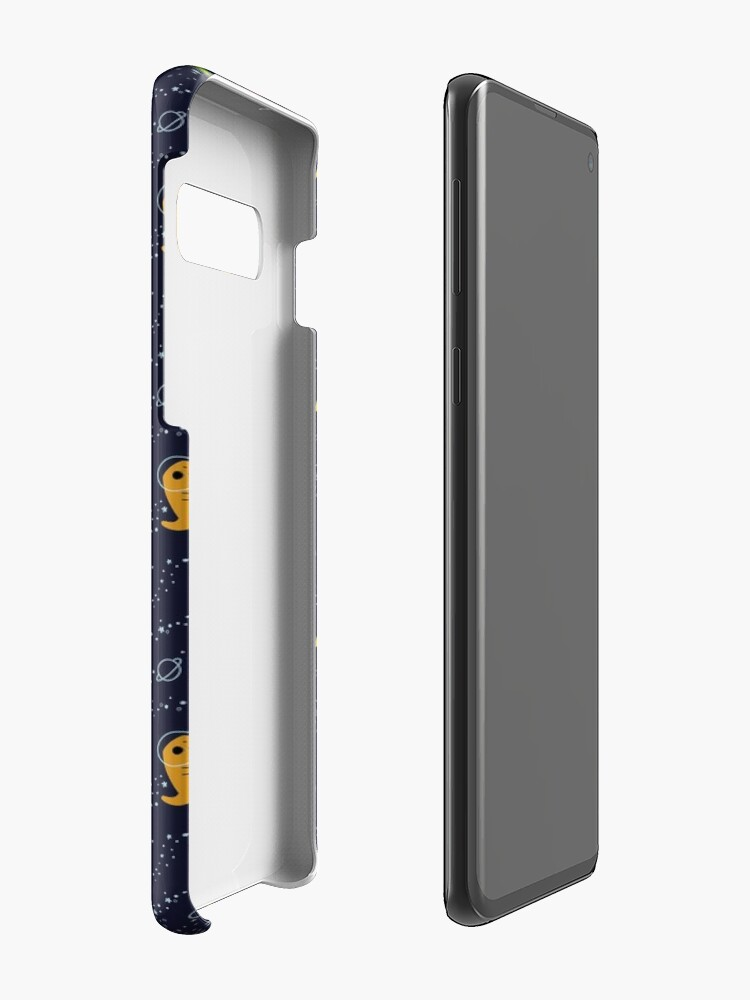 Alternate view of Dinosaurs In Space Case & Skin for Samsung Galaxy